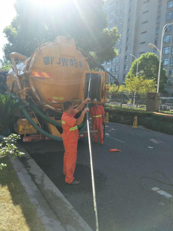 埤城镇雨污水管道清淤